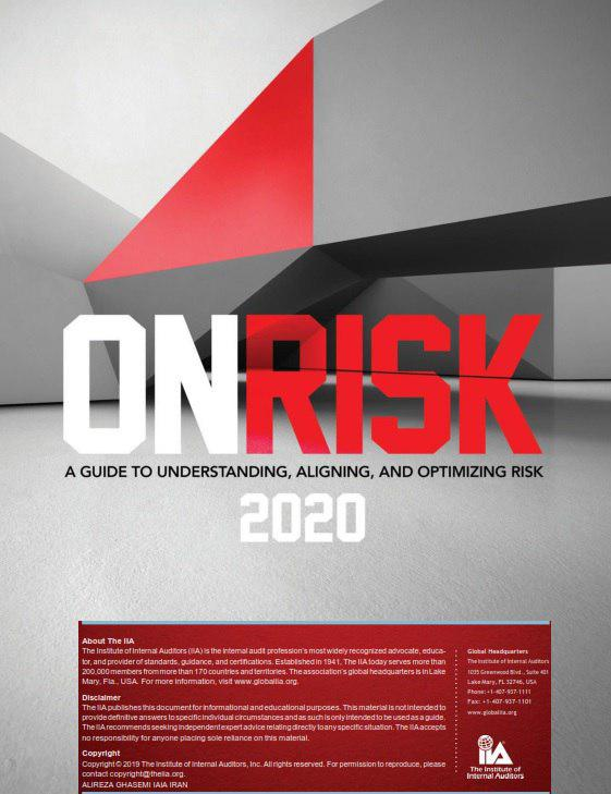 OnRisk 2020:  A Guide to Understanding, Aligning, and Optimizing Risk