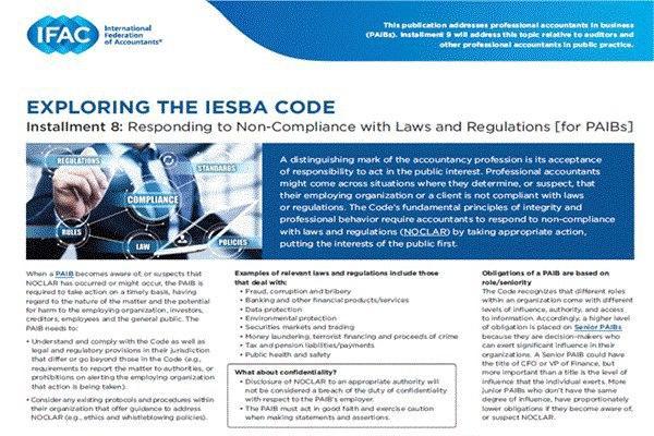 EXPLORING THE IESBA CODE